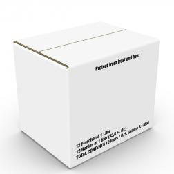 Exportkarton 12 x 0,75l/ 1,0l DB 310 hoch