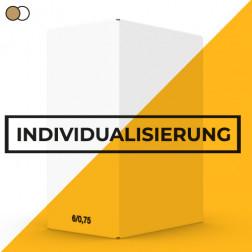 Faltkarton 6 x 0,75 Individualisierbar