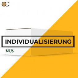 Einwegkarton 6 x 0,75l Individualisierbar