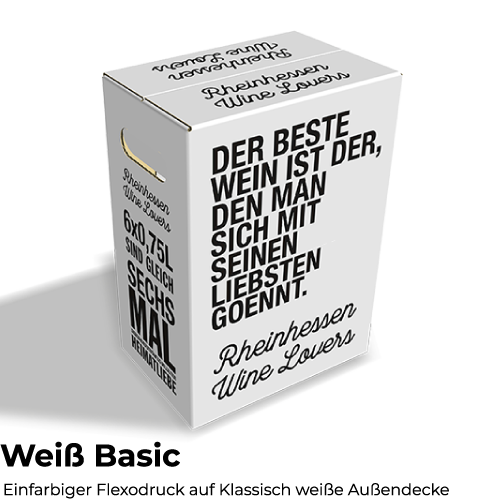 Faltkarton 6 x 0,75 Automatikgefach Individualisierbar
