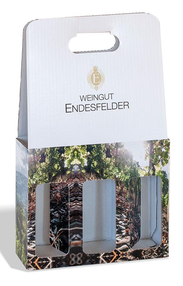 Verpackung Weingut Endesfelder