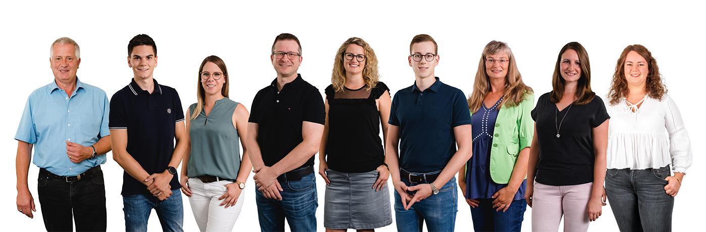 Mitarbeiter der Brohl Wellpappe Wittlich